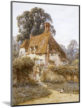 Near Witley, Surrey-Helen Allingham-Mounted Premium Giclee Print