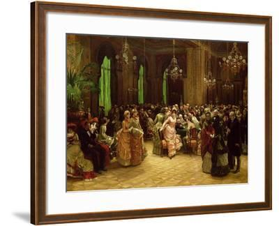 The Casino, Monte Carlo, 1884-Sir William Beechey-Framed Giclee Print