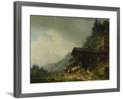 A Forge in the Bavarian Alps-Sir William Beechey-Framed Giclee Print