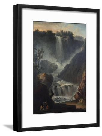 The Falls of Terni-Hendrik Avercamp-Framed Giclee Print