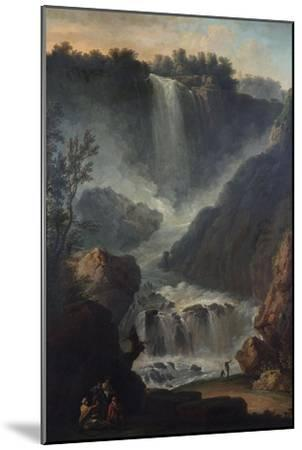 The Falls of Terni-Hendrik Avercamp-Mounted Giclee Print
