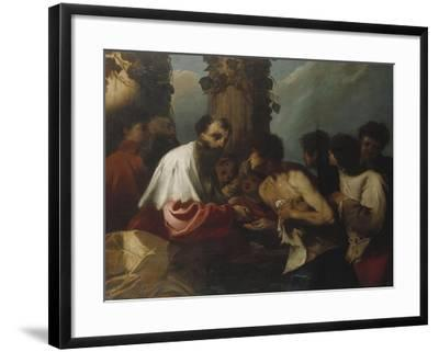 The Parable of the Labourers in the Vineyard-Cristofano Allori-Framed Giclee Print