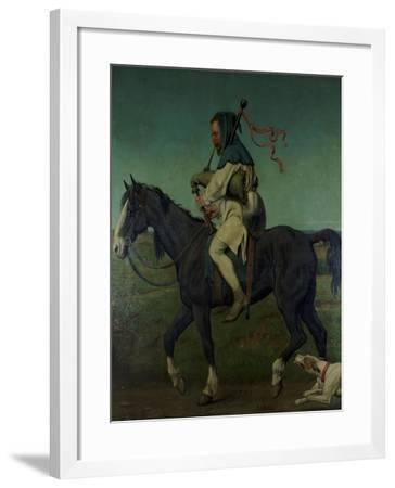 The Miller from Chaucer's 'Canterbury Tales', 1878-John Brett-Framed Giclee Print