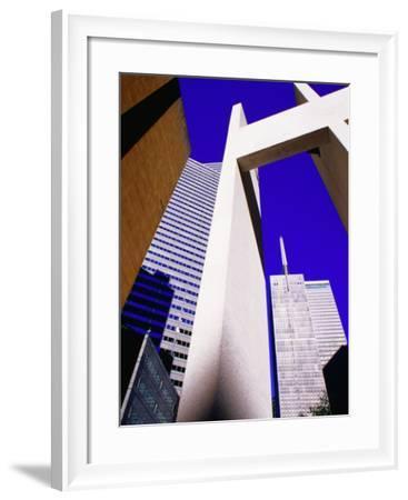 Bell Tower Ar Thanksgiving Square, Dallas, Texas-Richard Cummins-Framed Photographic Print