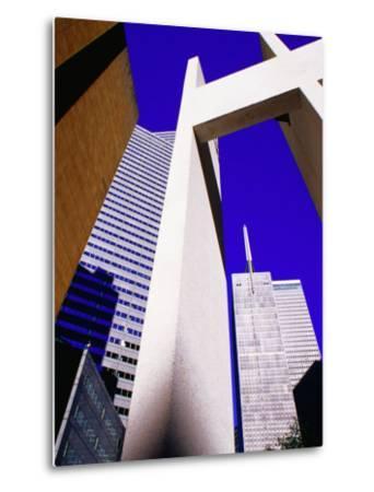 Bell Tower Ar Thanksgiving Square, Dallas, Texas-Richard Cummins-Metal Print