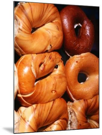 Bagels, New York City, New York-Michael Gebicki-Mounted Photographic Print