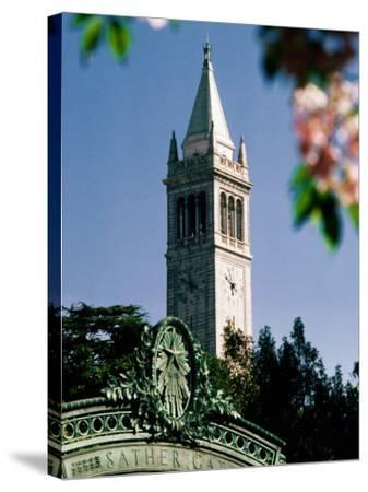 University of California, the Campanile, Alamada County, Berkeley, California-John Elk III-Stretched Canvas Print