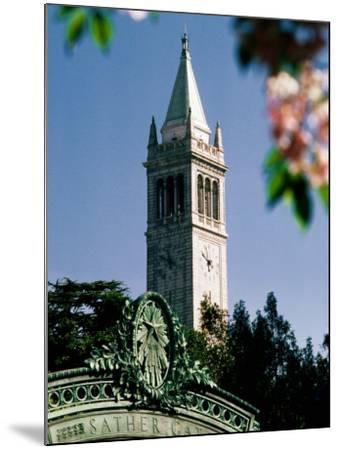 University of California, the Campanile, Alamada County, Berkeley, California-John Elk III-Mounted Photographic Print