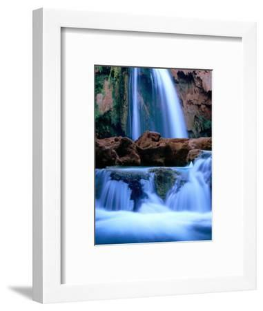 Havasu Falls, Havasupai Indian Reservation, Grand Canyon National Park, Arizona-Mark Newman-Framed Photographic Print