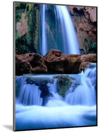 Havasu Falls, Havasupai Indian Reservation, Grand Canyon National Park, Arizona-Mark Newman-Mounted Photographic Print