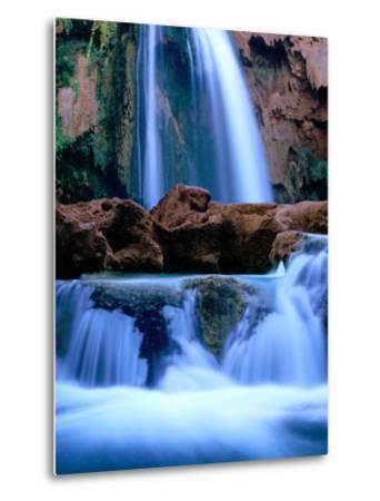 Havasu Falls, Havasupai Indian Reservation, Grand Canyon National Park, Arizona-Mark Newman-Metal Print