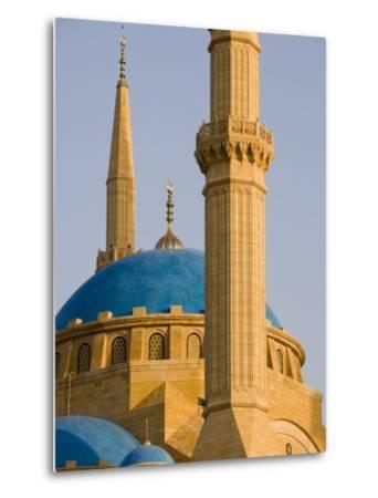 Grand Mosque, Beirut, Bayrut, Lebanon-Holger Leue-Metal Print