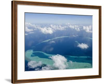 Rasdhoo Atoll, Rashdoo Atoll, Alifu, Maldives-Felix Hug-Framed Photographic Print