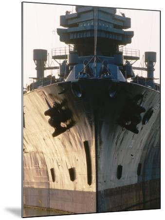 Battleship USS Texas, Houston, Texas-Holger Leue-Mounted Photographic Print