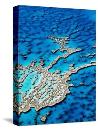 Hardy Reef, Near Whitsunday Islands, Great Barrier Reef, Queensland, Australia-Holger Leue-Stretched Canvas Print