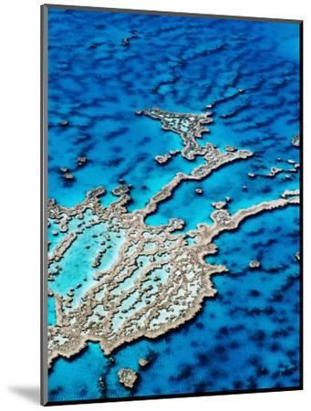 Hardy Reef, Near Whitsunday Islands, Great Barrier Reef, Queensland, Australia-Holger Leue-Mounted Photographic Print