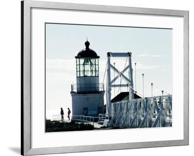 Pt Bonita Lighthouse at Marin Headlands, Marin County, California-John Elk III-Framed Photographic Print
