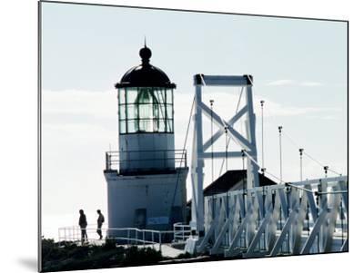 Pt Bonita Lighthouse at Marin Headlands, Marin County, California-John Elk III-Mounted Photographic Print