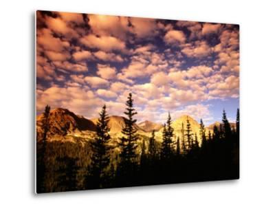 Peaks and Sky from Diamond Lake Trail, Indian Peaks Wilderness, Colorado-Witold Skrypczak-Metal Print