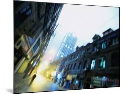 Shanghai Street, Shanghai, China-Ray Laskowitz-Mounted Photographic Print