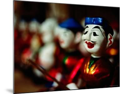 Traditional Water Puppets, Hanoi, Vietnam-Anthony Plummer-Mounted Photographic Print