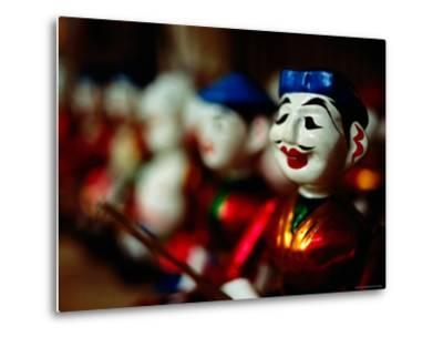 Traditional Water Puppets, Hanoi, Vietnam-Anthony Plummer-Metal Print