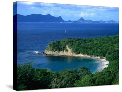 Anse la Roche Beach, Carriacou, Carriacou and Petit Martinique, Grenada-Margie Politzer-Stretched Canvas Print