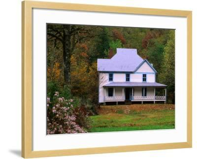 Caldwell House, Cataloochee, Great Smoky Mountains National Park, Tennessee-John Elk III-Framed Photographic Print