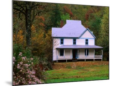 Caldwell House, Cataloochee, Great Smoky Mountains National Park, Tennessee-John Elk III-Mounted Photographic Print