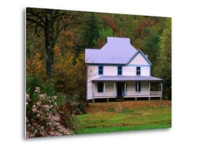 Caldwell House, Cataloochee, Great Smoky Mountains National Park, Tennessee-John Elk III-Metal Print