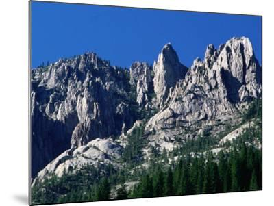 Castle Crags from South, California-John Elk III-Mounted Photographic Print