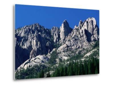 Castle Crags from South, California-John Elk III-Metal Print