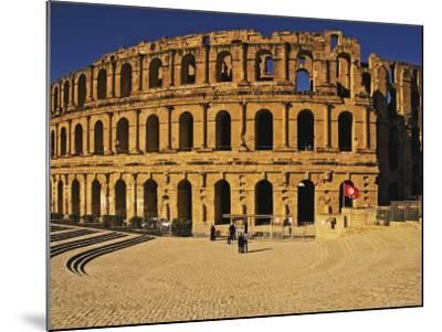 South Side of Roman Colosseum, El-Jem, Mahdia, Tunisia-Bethune Carmichael-Mounted Photographic Print