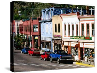 Street Scene, Manitou Springs, Colorado-Holger Leue-Stretched Canvas Print