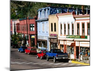 Street Scene, Manitou Springs, Colorado-Holger Leue-Mounted Photographic Print