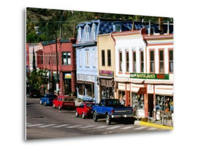 Street Scene, Manitou Springs, Colorado-Holger Leue-Metal Print