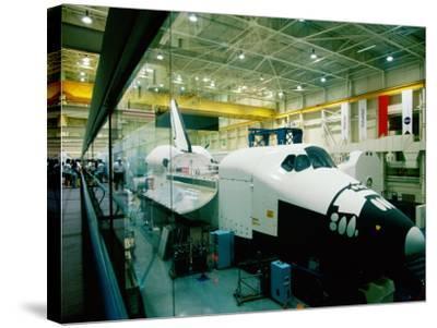 Training Space Shuttle, International Space Station Program, Johnson Space Center, Houston, Texas-Holger Leue-Stretched Canvas Print