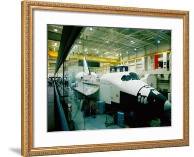 Training Space Shuttle, International Space Station Program, Johnson Space Center, Houston, Texas-Holger Leue-Framed Photographic Print