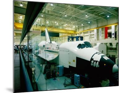 Training Space Shuttle, International Space Station Program, Johnson Space Center, Houston, Texas-Holger Leue-Mounted Photographic Print