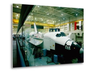 Training Space Shuttle, International Space Station Program, Johnson Space Center, Houston, Texas-Holger Leue-Metal Print