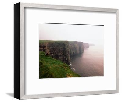 Cliffs of Moher at Sunset, Ireland-Holger Leue-Framed Photographic Print