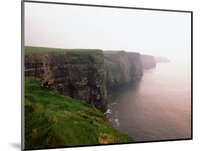 Cliffs of Moher at Sunset, Ireland-Holger Leue-Mounted Photographic Print