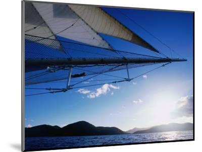 Horizon Seem from Bowsprit Net Star Clipper, Tortola-Holger Leue-Mounted Photographic Print