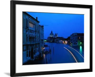 Canal from Accademia at Dusk, Venice, Italy-Christopher Groenhout-Framed Photographic Print