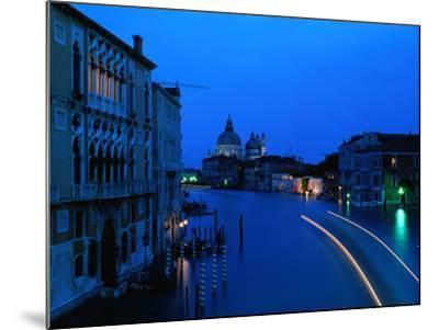 Canal from Accademia at Dusk, Venice, Italy-Christopher Groenhout-Mounted Photographic Print