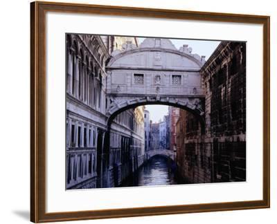 Ponte Dei Sospiri or The Bridge of Sighs, Venice, Italy-Glenn Beanland-Framed Photographic Print