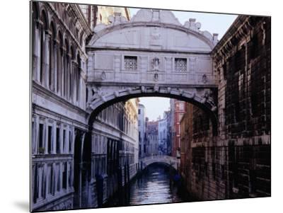 Ponte Dei Sospiri or The Bridge of Sighs, Venice, Italy-Glenn Beanland-Mounted Photographic Print