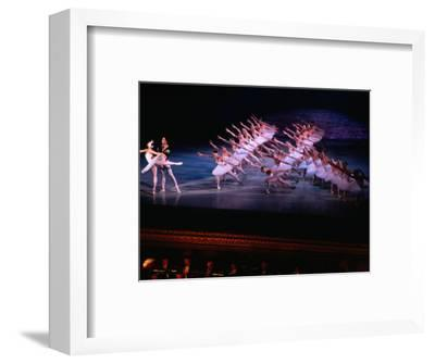 Ballet, Swan Lake Performance, Odesa Opera House, Odesa, Ukraine-Holger Leue-Framed Photographic Print
