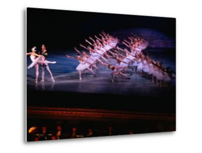 Ballet, Swan Lake Performance, Odesa Opera House, Odesa, Ukraine-Holger Leue-Metal Print