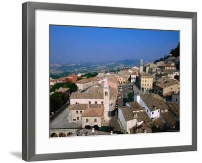 Buildings of Lower Town, San Marino, San Marino-John Elk III-Framed Photographic Print